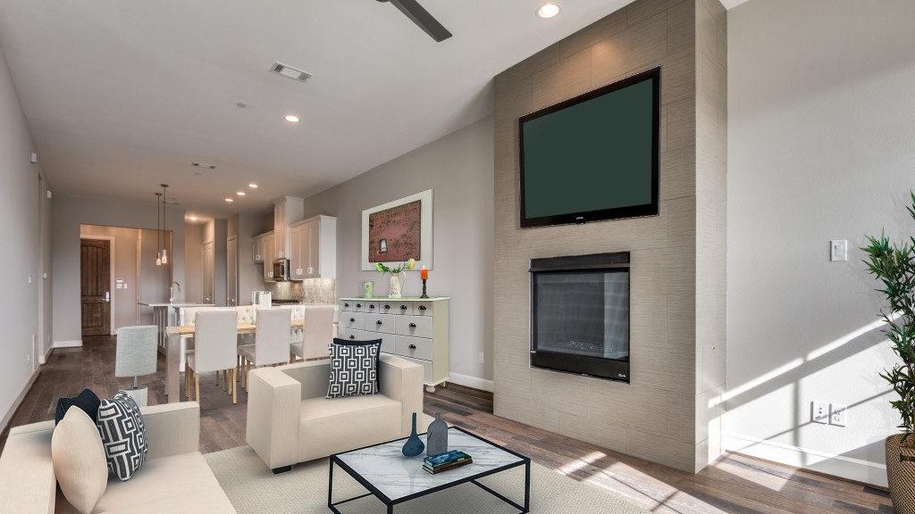 Meridian Square Living Room Interior