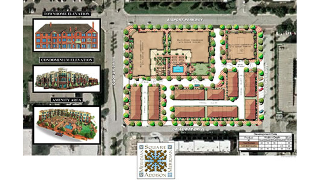 Meridian Square Construction Site Plan
